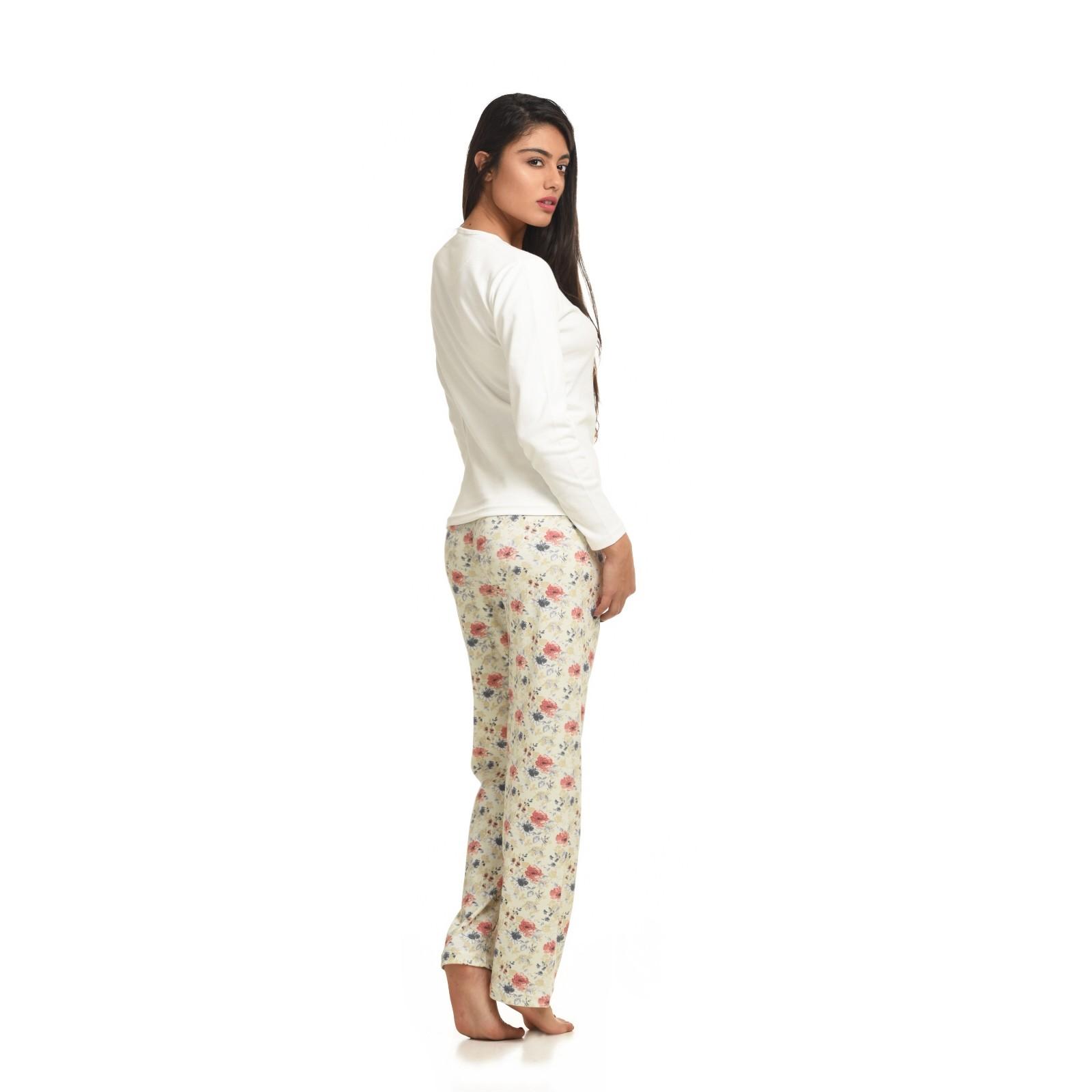 7c9d43e538a Mirano Γυναικεία Πυτζάμα με εμπριμέ παντελόνι -MIR3510